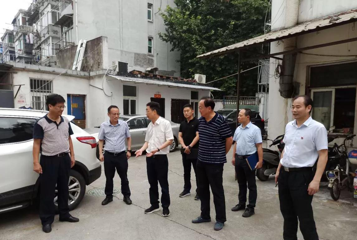 市建设局党委书记、局长戴健赴征收项目慰问调研